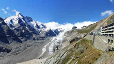 Großglockner und die Kaiser-Franz-Josefs-Höhe