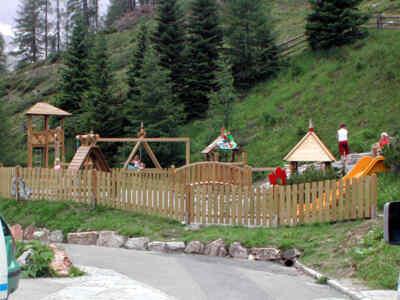 Kinderspielplatz an der Hochalpenstraße