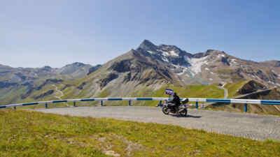 Traumhafte Motorradtouren an der Hochalpenstraße