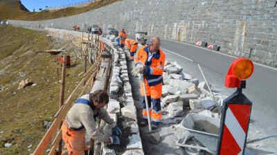 Straßenarbeit