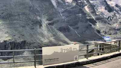 Fotopoint auf der Kaiser-Franz-Josefs-Höhe