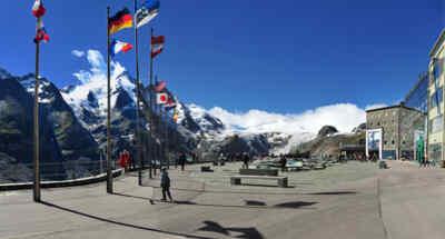 Der Blick von der Kaiser-Franz-Josefs-Höhe