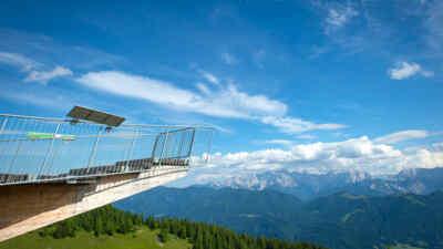 Aussichtsplattform auf der Villacher Alpenstraße