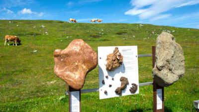 Geologielehrweg im Naturpark Dobratsch