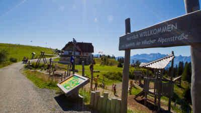 Spielplatz am Dobratsch in Kärnten