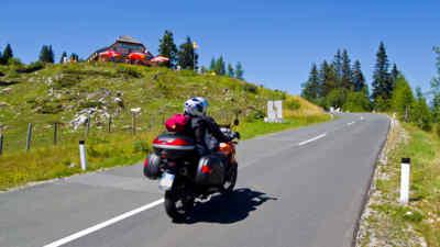 Traumhafte Motorradtour auf der Villacher Alpenstraße