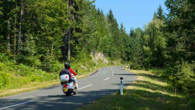 Mit dem Motorrad über die Villacher Alpenstraße