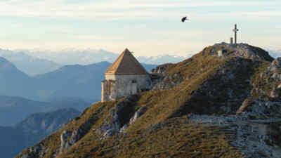 Gipfelkreuz am Dobratsch