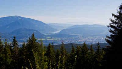 Landschaftsaufnahme von der Alpenstrasse in Kärnten