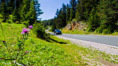 Autotour auf der Villacher Alpenstraße