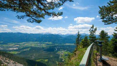 Imposante Aussicht von der Alpenstraße